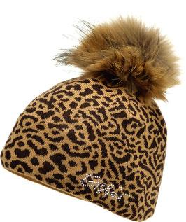 Animal Fur Crystal Eisbär Mütze