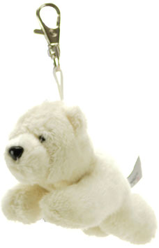 Eisbär Schlüsselanhänger 8cm