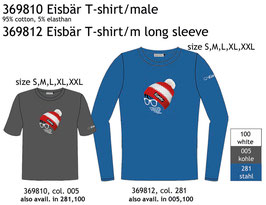 Eisbär T-Shirt male / Longsleeve male