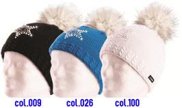 Selina Lux Crystal Eisbär Mütze