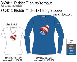 Eisbär T-Shirt female / Longsleeve female