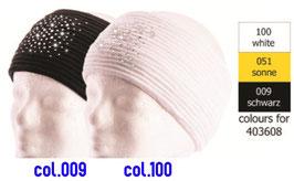 Fedora Crystal Eisbär Stirnband