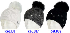Kelsy Fur Crystal Eisbär Mütze