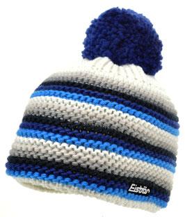Fan Pompon Eisbär Mütze
