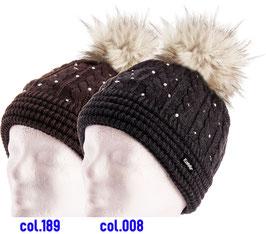 Nana Lux Crystal Eisbär Mütze