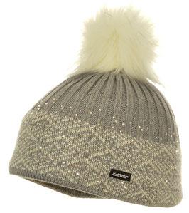 Mona Lux Crystal Eisbär Mütze