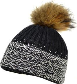 Mona Fur Crystal Eisbär Mütze