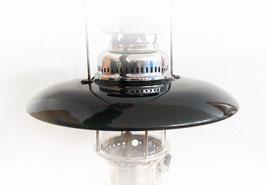 Topreflektor für 500HK, schwarz und weiss emailliert, NOS