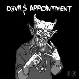 Micky Rosé & Chilli Beats - D3VIL$ APPOINTMENT CD  - Limited Edition