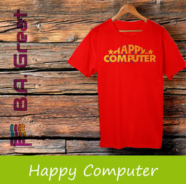 Happy Computer T-Shirt
