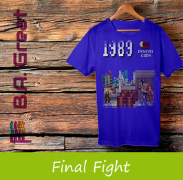 Final Fight Game T-Shirt