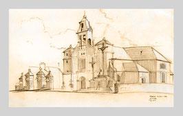 Skizze_Kirche_Bretagne. LAN13.