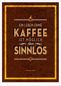 Ein Leben ohne Kaffee. PZSK03.