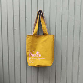 Shopper Bag Love & Peace for everyone