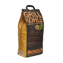 MONOLITH High-End Grillkohle 8 kg Sack