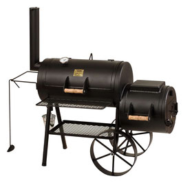 "Joe´s BBQ Smoker 16""Special mit Kochplatte"