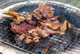 大好評!鳥取県産味付け焼肉用イノシシ肉