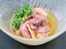 レストランのシェフが作った いのしし肉のコンフィ(缶詰)
