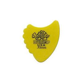 Dunlop Tortex Sharkfin 0.73 mm. plectra