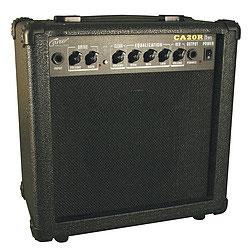 Career CA25R Guitar Amp, schwarz, Reverb