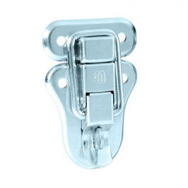 Drawbolt large padlockable zinc plated