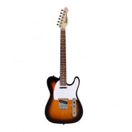 Aria Electric Guitar 3-Tone Sunburst 615-FRONTI 3TS