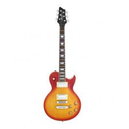 Aria Electric Guitar Cherry Sunburst PE-350 CS