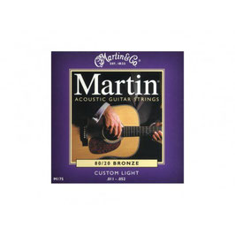 "Martin set Acoustic ""80/20 Bronze 011-052 175"