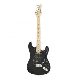 Aria Electric Guitar Black STG-003SPL BK