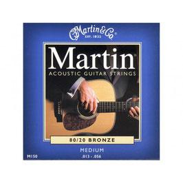 "Martin set Acoustic ""80/20 Bronze 013-056 150"