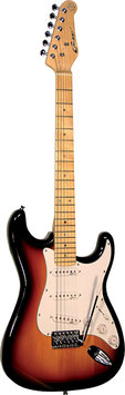 Career Stage-1 E-Gitarre sunburst