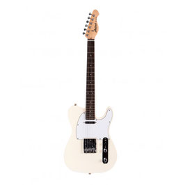 Aria Electric Guitar Ivory 615-FRONTI IV