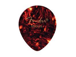 Fender Classic Celluloid Picks 347 shape medium shell guitar picks