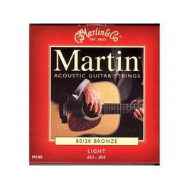 """Bekijk groter Martin set Acoustic """"80/20 Bronze 012-054 140"""