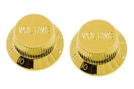PK-0154 Set of 2 Plastic Volume Knobs for Stratocaster