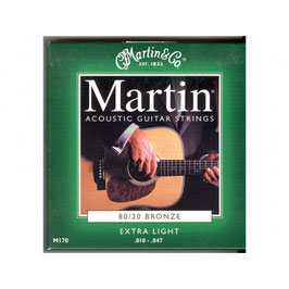 "Martin set Acoustic ""80/20 Bronze 010-047 170"