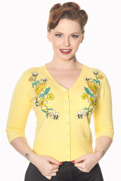 Banned flickers cardigan yellow