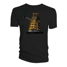 Dr Who Dalek distressed shirt grey mt L