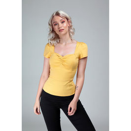 Collectif mimi top yellow mt 16 (xl)