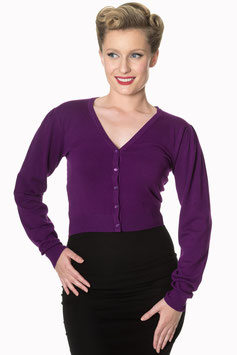 Banned little luxury cardigan purple