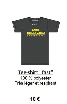 Tee shirt Entrainement - Supporter