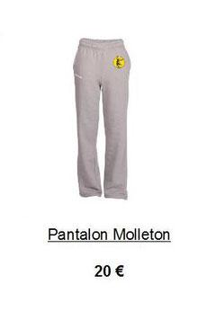 ¨Pantalon Molleton
