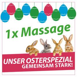 Gutschein für 1. Massage