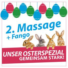 Gutschein für 2x Massage inkl. Fango