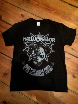 Hallucinator Shirt - 666/Middle Finger