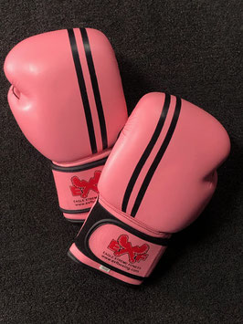 Leather Boxing Gloves - Pink