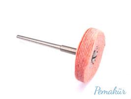 Imprägnierte Baumwollscheibe, pink-fein