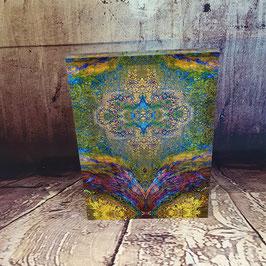 Lithoviso Acrylglas-Stele 20 x 15 cm als einzigartiges Kunstobjekt für Schreibtisch, Regal oder Fensterbank.