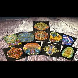 10er Set Lithoviso Grußkarten