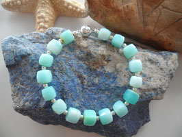 Armband aus facettiertem Opal (Andenopal)